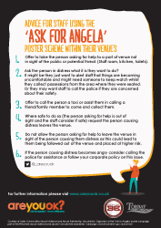Ask For Angela - Guidance